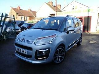2015 65 Citroen C3 Picasso Selection 1.6 BlueHDi 5 Door Silver 58,833 Miles EU6