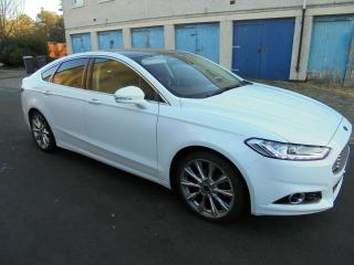 2015 65 FORD MONDEO 2.0 TDCi AUTOMATIC / POWERSHIFT TITANIUM X PACK. 180BHP