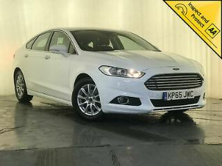 2015 65 FORD MONDEO TITANIUM ECONETIC TDCI £20 ROAD TAX 1 OWNER SERVICE HISTORY