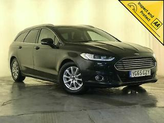 2015 65 FORD MONDEO TITANIUM TDCI AUTO LANE KEEPING ASSIST 1 OWNER SVC HISTORY