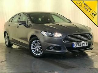 2015 65 FORD MONDEO ZETEC ECONETIC SAT NAV CRUISE CONTROL 1 OWNER SVC HISTORY