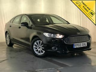 2015 65 FORD MONDEO ZETEC ECONETIC TDCI £0 ROAD TAX SAT NAV 1 OWNER SVC HISTORY