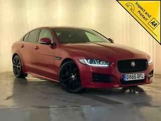2015 65 JAGUAR XE R SPORT AUTO HEATED RED LEATHER SEATS SUN ROOF NAV SVC HISTORY