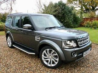 2015 65 Land Rover Discovery 4 3.0SD V6 255bhp s/s Auto HSE 1 LADY OWNER