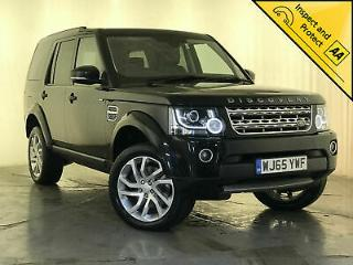 2015 65 LAND ROVER DISCOVERY HSE SDV6 AUTO GLASS ROOF 1 OWNER SERVICE HISTORY