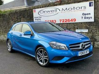 2015 65 MERCEDES BENZ A CLASS 1.5 A180 CDI BLUEEFFICIENCY SPORT 5D 109 BHP DIESE