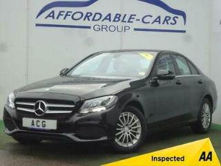 2015 65 MERCEDES BENZ C CLASS 2.1 C220 D SE EXECUTIVE 4D AUTO 170 BHP DIESEL