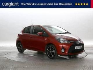 2015 65 Reg Toyota Yaris 1.3 Sport Met Red 5 STANDARD PETROL MANUAL
