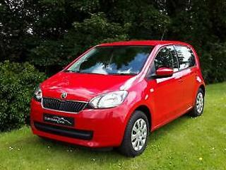 2015 '65' SKODA CITIGO 1.0 SE 5 DOOR IN TORNADO RED. ONLY 5,050 MILES