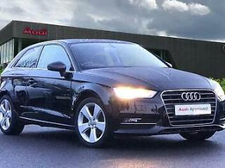 2015 Audi A3 Sport 1.4 TFSI 125 PS 6 speed Petrol black Manual