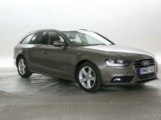 2015 Audi A4 2.0 TDi 163 Ultra SE Technik Avant Estate Diesel Manual