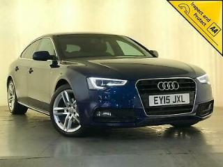 2015 AUDI A5 S LINE DIESEL AUTO SAT NAV HEATED SEATS 1 OWNER SERVICE HISTORY