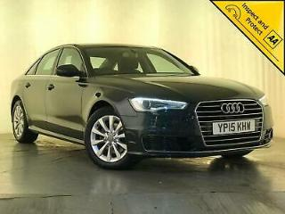 2015 AUDI A6 SE TDI ULTRA DIESEL 1 OWNER SERVICE HISTORY LEATHER SEATS SAT NAV