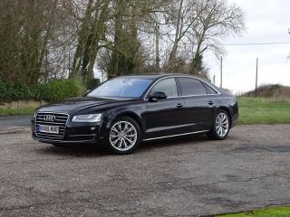Audi A8 L 4.2TDI QUATTRO SE EXECUTIVE LONG BASE SALOON Saloon 2015, 48000 miles, £23948