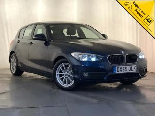BMW 1 Series 1.5 116d ED Plus s/s 5dr 1 OWNER SERVICE HISTORY 2015, 110460 miles, £6795