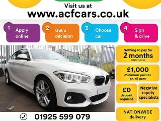 BMW 1 Series 118d M SPORT CAR FINANCE FR £42 PW Hatchback 2015, 74000 miles, £8990