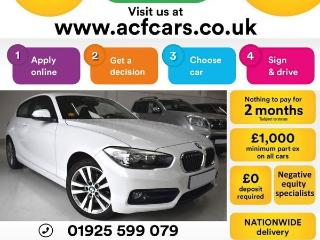 BMW 1 Series 118i SPORT CAR FINANCE FR £40 PW Hatchback 2015, 49000 miles, £8490