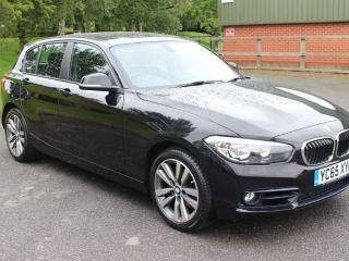 BMW 1 Series 2.0 118d Sport Sports Hatch s/s 5dr WITH 6 MONTH FORD WARRANTY 2015, 28000 miles, £11000