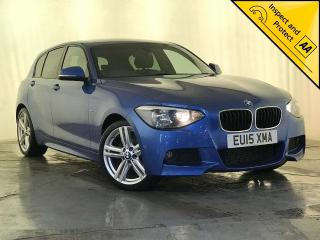 BMW 1 Series 2.0 116d M Sport Sports Hatch s/s 5dr £30 ROAD TAX SERVICE HISTORY 2015, 70970 miles, £10295