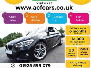 BMW 1 Series 118i M SPORT CAR FINANCE FR £48 PW Hatchback 2015, 43000 miles, £10490