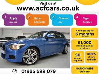 BMW 1 Series 125d M SPORT CAR FINANCE FR £50 PW Hatchback 2015, 42000 miles, £10990