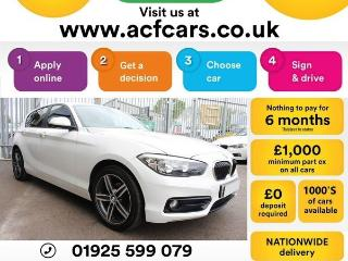 BMW 1 Series 118i SPORT CAR FINANCE FR £42 PW Hatchback 2015, 47000 miles, £8990