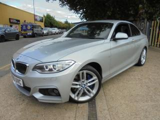 BMW 2 Series 2.0 220i M Sport Auto s/s 2dr SAT/NAV,PADD/SHIFT,Heated seat 2015, 26000 miles, £15180