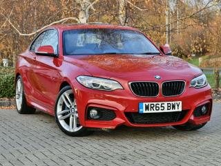 BMW 2 Series 228i M Sport Coupe 2015, 52564 miles, £16333