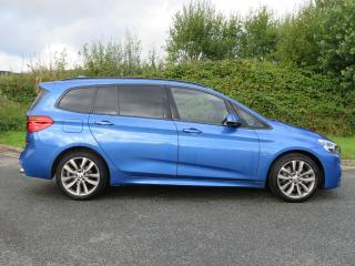 BMW 2 Series 220d M Sport Gran Tourer NAV PLUS, HEAD UP,HEATED SEATS 2015, 35140 miles, £16250