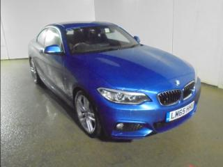 BMW 2 Series 228i M Sport 2dr Coupe 2015, 32338 miles, £14361