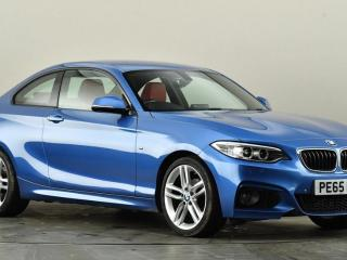BMW 2 Series 218i M Sport 2dr [Nav] Coupe 2015, 13683 miles, £13999