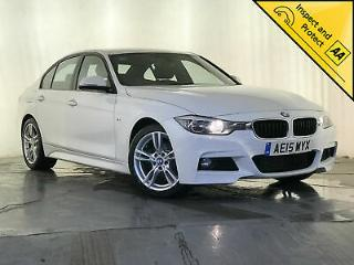 2015 BMW 320D M SPORT LEATHER INTERIOR CRUISE CONTROL SAT NAV SERVICE HISTORY