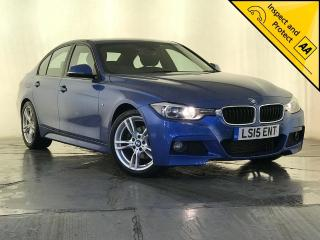 BMW 3 Series 2.0 320d BluePerformance M Sport s/s 4dr 1 OWNER SERVICE HISTORY 2015, 73380 miles, £11795