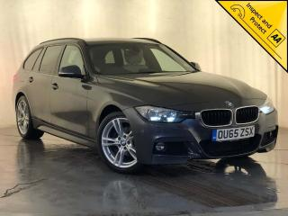 BMW 3 Series 2.0 320d M Sport Touring Auto s/s 5dr HARMAN KARDON CREAM LEATHER 2015, 94590 miles, £12000