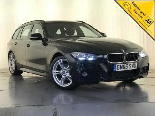 BMW 3 Series 2.0 320d M Sport Touring Auto s/s 5dr 1 OWNER SERVICE HISTORY 2015, 136570 miles, £9500