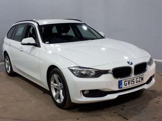BMW 3 Series 2.0 318D SE TOURING 5DR AUTO 141 BHP SAT NAV FULL SERVICE HISTORY Estate 2015, 62000 miles, £11640