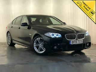 2015 BMW 520D M SPORT AUTO CREAM LEATHER INTERIOR PARK ASSIST REVERSING CAMERA