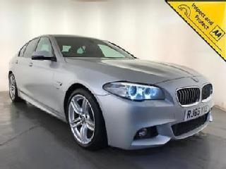 2015 BMW 520D M SPORT AUTOMATIC DIESEL HEATED SEATS 1 OWNER SERVICE HISTORY