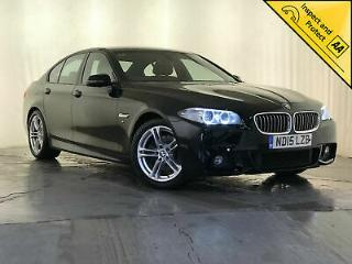 2015 BMW 520D M SPORT AUTOMATIC HEATED SEATS £30 ROAD TAX 1 OWNER SVC HISTORY