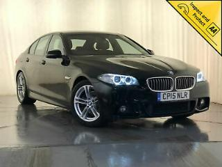 2015 BMW 520D M SPORT AUTOMATIC SAT NAV HEATED SEATS £30 ROAD TAX 1 OWNER