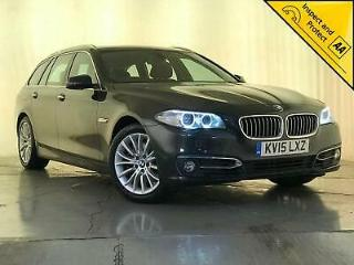 2015 BMW 525D LUXURY AUTO ESTATE SERVICE HISTORY 1 OWNER HEATED SEATS