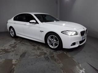BMW 5 Series 2.0 518D M SPORT 4DR 148 BHP 1 OWNER FSH LEATHER Saloon 2015, 56837 miles, £12940
