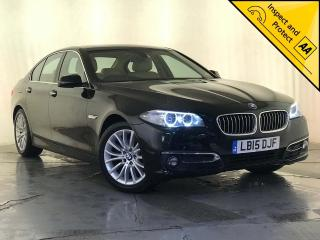 BMW 5 Series 2.0 520d Luxury 4dr 1 OWNER SERVICE HISTORY 2015, 52160 miles, £13495