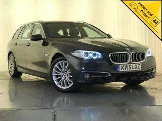 BMW 5 Series 2.0 525d Luxury Touring 5dr SERVICE HISTORY 1 OWNER 2015, 123940 miles, £9495