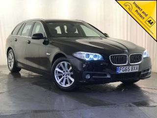 BMW 5 Series 2.0 520d SE Touring 5dr 1 OWNER SAT NAV £30 ROAD TAX 2015, 92620 miles, £11295