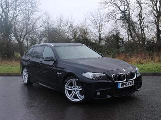 BMW 5 Series 520d M Sport Touring Front and rear parking sensors 2015, 36026 miles, £15999