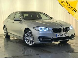 BMW 5 Series 2.0 520d Luxury 4dr 1 OWNER SERVICE HISTORY 2015, 120310 miles, £8500