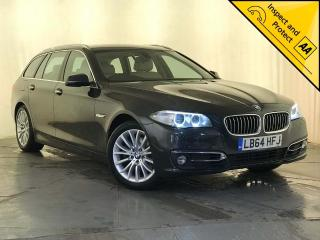 BMW 5 Series 2.0 520d Luxury Touring 5dr BLUETOOTH 1 OWNER SVC HISTORY 2015, 89580 miles, £11000