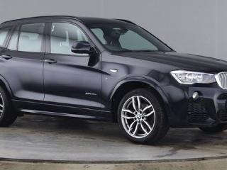 BMW X3 3.0 XDRIVE35D M SPORT 5d AUTO 1 OWNER LOW MILEAGE HEATED BLACK NEVADA LEATHER BLUETOOTH CRUISE Estate 2015, 19000 miles, £24500