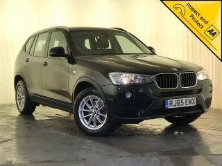BMW X3 2.0 20d SE xDrive 5dr 1 OWNER SERVICE HISTORY 2015, 92990 miles, £12795